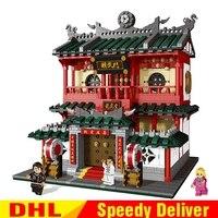 XingBao 01004 2531Pcs Block Genuine Creative Building Chinese Martial Arts Building Blocks Bricks DIY legoings Toys Clone Lepin