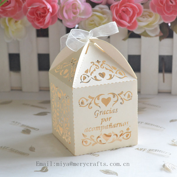 Wedding Door Gift: Wedding Door Gift Box With Organza Ribbons,souvenirs For