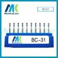BC - Dental Lab Assorted Diamond Burs Millers Tooth Drill Jewelers/High abrasive/High speed handpiece dental bur emery bur