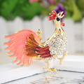 Beautiful Purple Tail Cock Keychain Body Cute Cartoon Simple keyring Animal Ornaments Suitable For Friends portachiavi