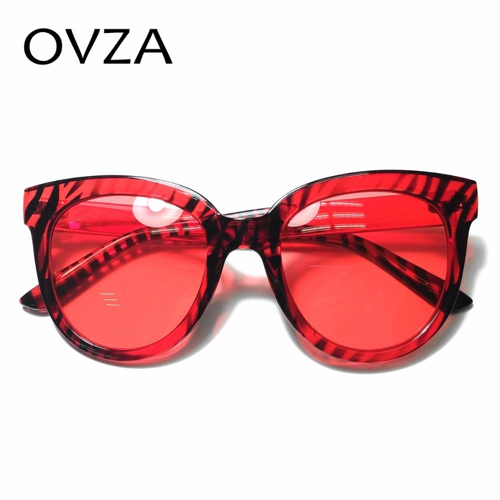 98b49d9850c2eb Ovza Einzigartige Rote Brille Frauen Mode Großen Herren Sonnenbrille Marke  Designer Transparent Vintage sonnenbrille lentes de sol S7007 in Ovza ...
