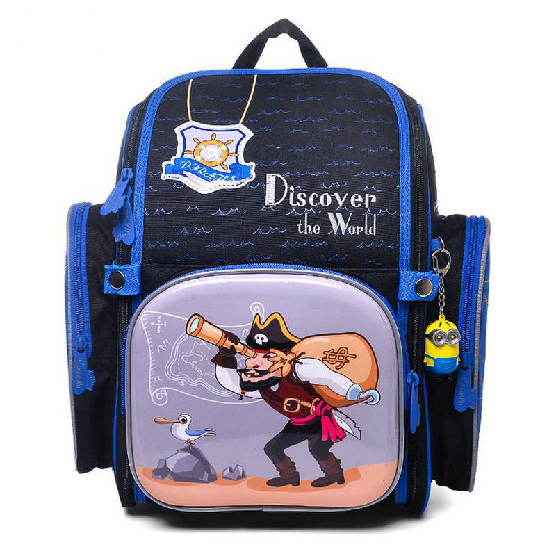 New Fashion Children Schoolbags For Girls Boys Cartoon Pattern School Bag Pupils Orthopedic Backpacks Mochila Infantil Bookbags new fashion junior high school students bags kids backpacks mochila infantil schoolbags girls double shoulder small bag