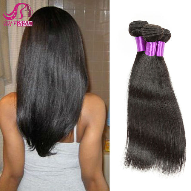 4Bundles Indian Virgin Hair Straight Grade 7A Unprocessed Indian Straight Virgin Hair Grace Hair Virgin Indian Hair Weave Sale