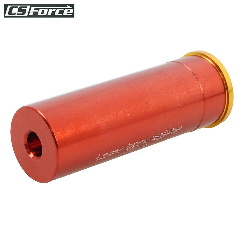 12 GAUGE Cartridge Laser Bore Sighter Boresighter Red Sighting Sight Boresight Red Copper 12GA Hunting Laser Red Copper