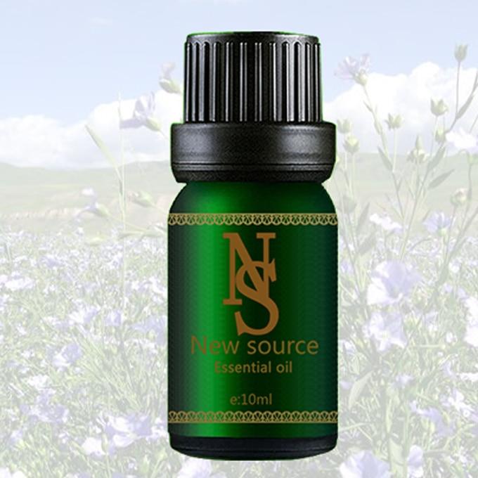 Льняное масло 10 мл эфирное масло Традиционный китайский льна ядра растительного масла улучшить женский предменструальный синдром JC19 ...