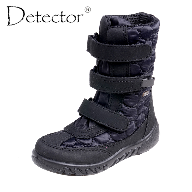 Detector Women Outdoor Snow Boots Waterproof Windproof Anti-Slip Boots Warm Thickening Thermal Shoes Ladies Winter Boots