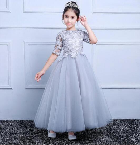 Real made photo first communion dresses for girls little tutu gown for birthday party high quality flower girl dresses custom new arrival flower girl dresses for weddings first communion dresses for girls birthday party christmas gown custom made