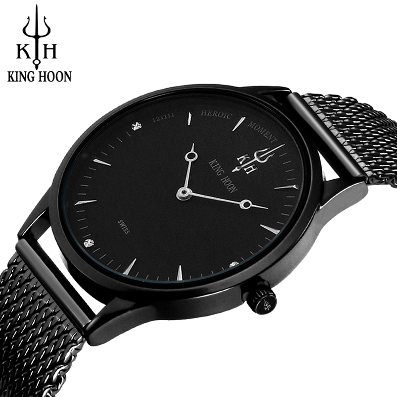 2017 Fashion Business Wrist Watch Men Top Brand Luxury Famous KINGHOON Male Clock Quartz Watch for Men Hodinky Relogio Masculino стоимость