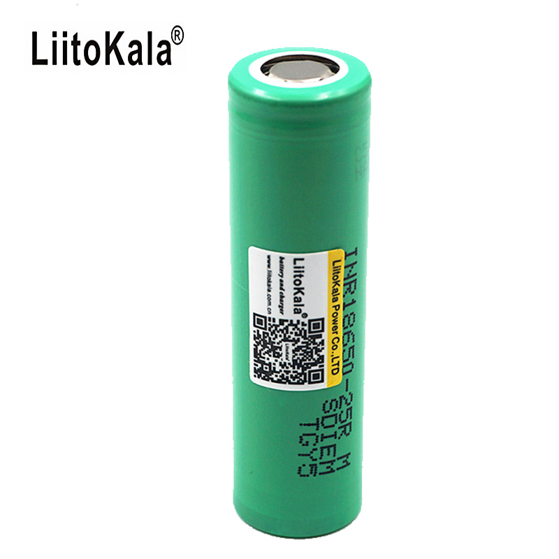 5PCS/Liitokala 100% Original inr 18650 Rechargeable Battery 2500mAh 20A Discharge Used in Rechargeable Battery