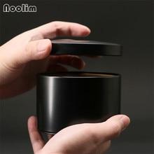 Мини Круглая герметичная жестяная чайная банка портативный чайный пакет Железный контейнер для хранения чайная коробка Домашний Кухонный Контейнер чайные банки