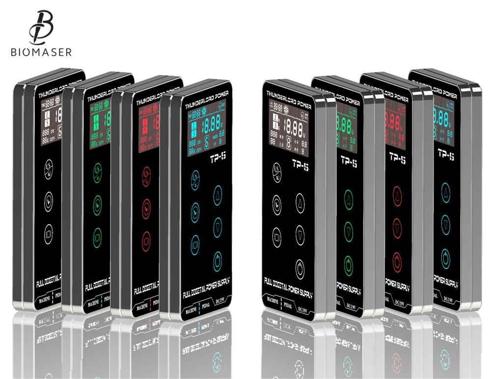 New Tattoo Power Supply HP-2 HURRICAN UPGRADE Touch Screen TP-5 Intelligent Digital LCD Makeup Dual Tattoo Power Supplies set жидкость tattoo power 30мл 0мг