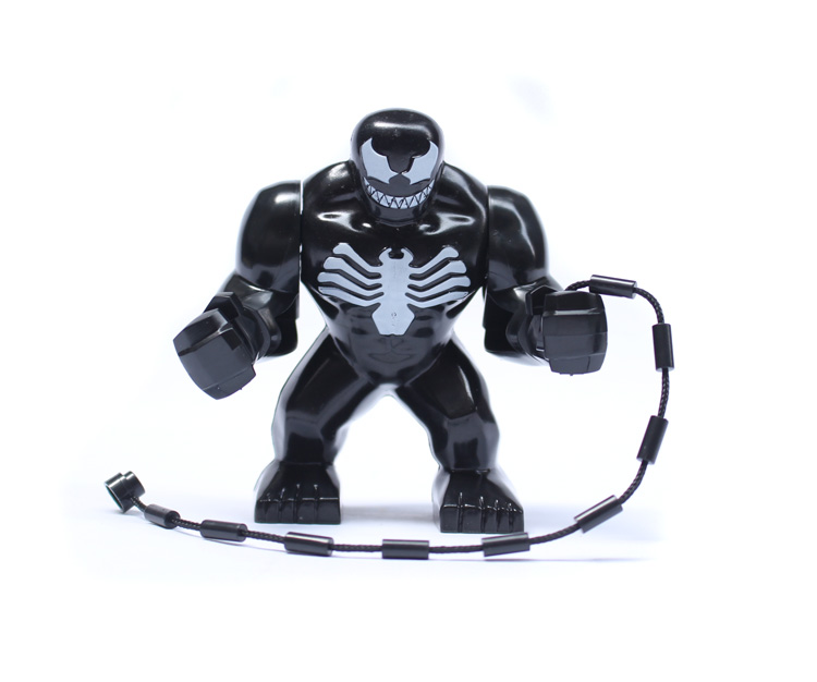 7cm Big Venom Spiderman Action 0182 Block Figure Building Toys