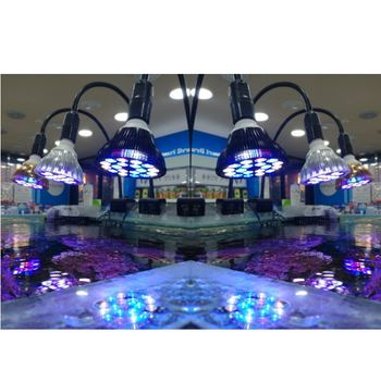 Free Personnaliser Lumière LED D'aquarium LED éclairage Pour Animaux De Compagnie Usine De Lampe De Réservoir De Poisson Poussent L'ampoule 54W Pour Les Algues De Puisard De Récif De Corail Marin D'eau Salée