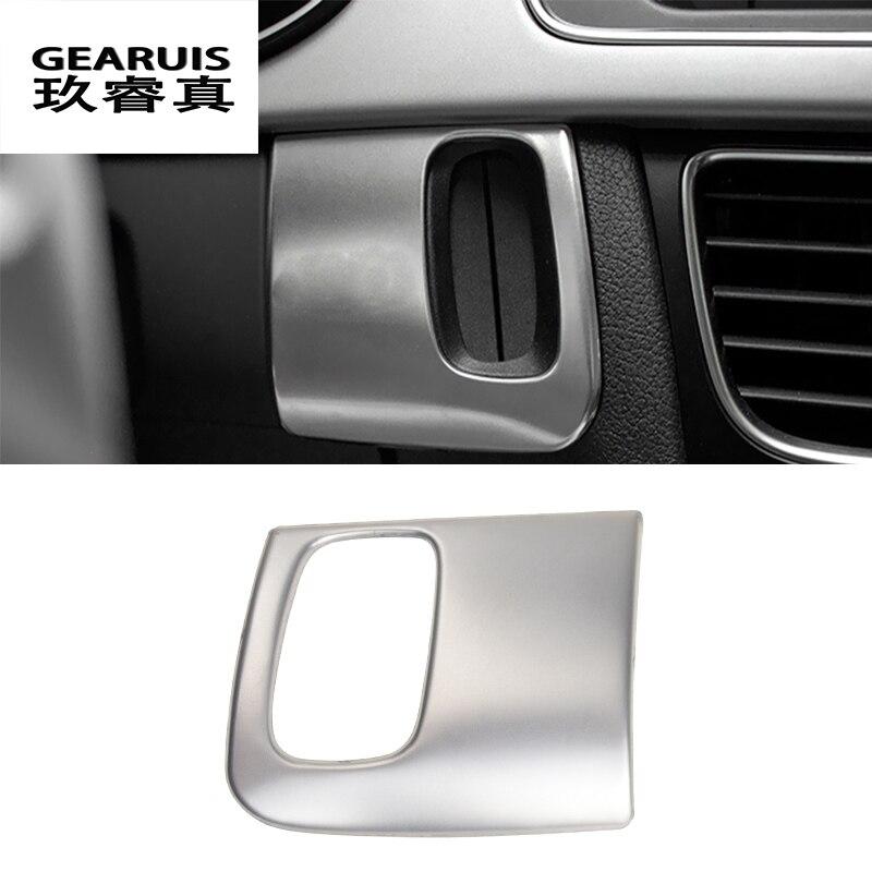 Auto styling keyhole dekorative rahmen abdeckungen trim schlüssel aufkleber streifen für Audi A4 B8 A5 Innen Auto Zubehör RHD LHD fahren