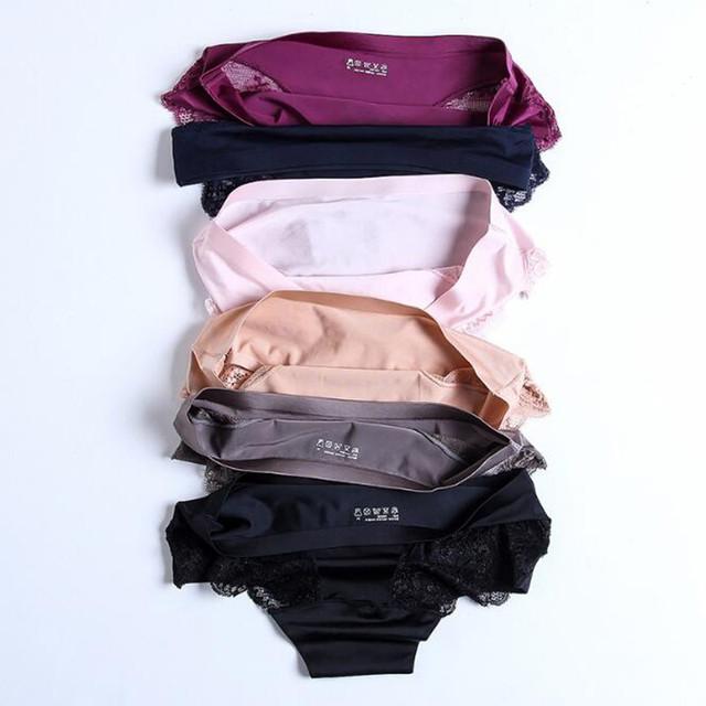 Seamless Soft Comfortable Lace Panties