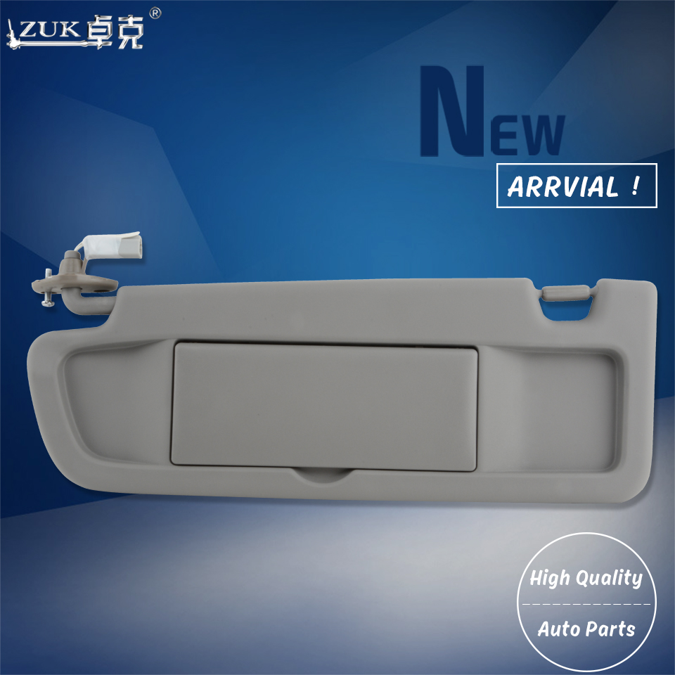 ZUK Car Styling Front Left Driver Side Car Sunvisor For HONDA CIVIC FA1  2006 2007 2008 2009 2010 2011 For Left Hand Drive Cars-in Sun Visors from  ... f79af555d8d