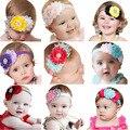 Stylish 2015 Lovely kidsHeadbands Rhinestone cute Flower Headbands For Girls Infant Hair Band baby