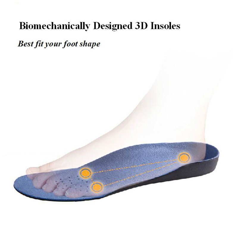 Classic Orthopedic Insole Flat Foot Orthotics Women Men Shoes EVA Arch Support Health Care Cushion Insert Unisex Health Pad Sole (4)