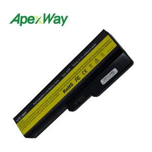Image 3 - Apexway 노트북 배터리 레노버 L08L6Y02 a3000 L08S6C02 LO806D01 L08L6C02 L08N6Y02 G430 G450 G455A G530 G550 G555 L08O6C02
