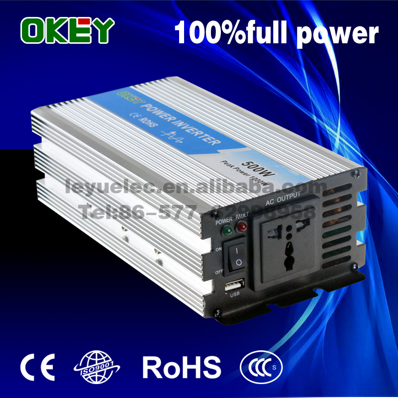 цена на home use Off gird solar power inverter OPIP-500-2-12 500W 12VDC to 220VAC pure sine wave inverter