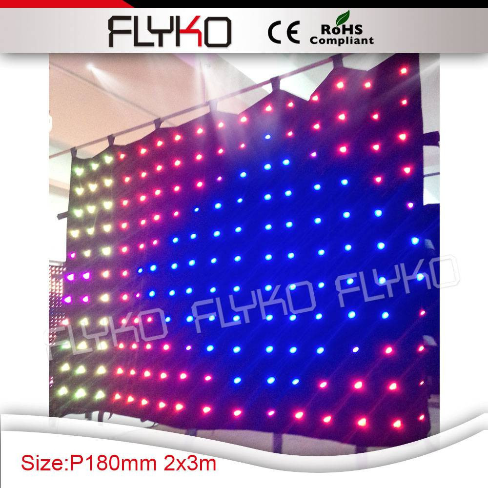 flyko p18 led video curtain 25