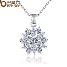 White Gold Color Necklace JIN028