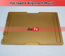 Top Aluminium Mould For iPad 4 mini /6 air 2/ Pro 7.9/9.7/12.9 inch Laminator Mold Metal for Front Glass Location(China)