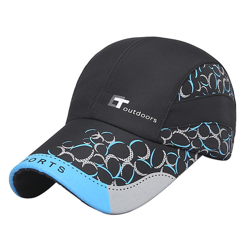 f167d23e076 Quick drying slim sports hat Men s outdoor sun protection baseball cap  Tennis hat dome bright eye ventilation-in Hiking Caps from Sports    Entertainment on ...
