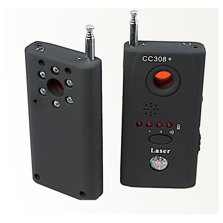 Vollständige Palette Anti-Spy Bug Detektor CC308 Mini Drahtlose Kamera Versteckte Signal GSM Gerät Finder Privatsphäre Zu Schützen Sicherheit