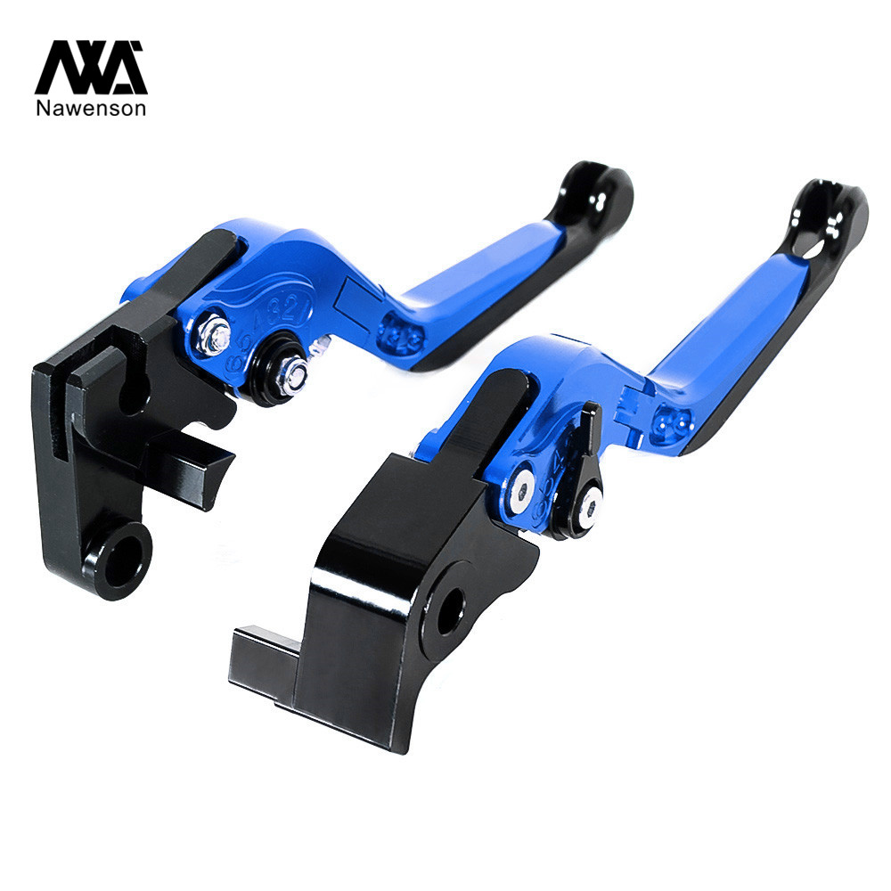 Motorbike Brake Lever and Clutch CNC Foldable Extendable Aluminum Handles For <font><b>Yamaha</b></font> <font><b>Tmax</b></font> 500 <font><b>2001</b></font> 02 03 04 05 06 2007 image