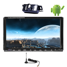 Capacitive Audio Touchscreen PC Android 5.1 Car DVD Music In Dash WiFi Radio Player Navigation GPS Stereo RDS Digital TV