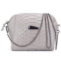 2016 крокодил модные женские сумки сумка Сумка Повседневное популярный мобильный телефон небольшой мешок цепи сумка серого цвета