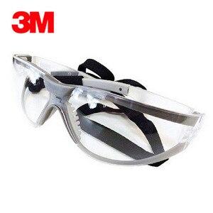 Image 2 - 3M 11394 السلامة نظارات نظارات مكافحة الضباب Antisand يندبروف مكافحة الغبار مقاومة شفافة نظارات واقية العمل نظارات