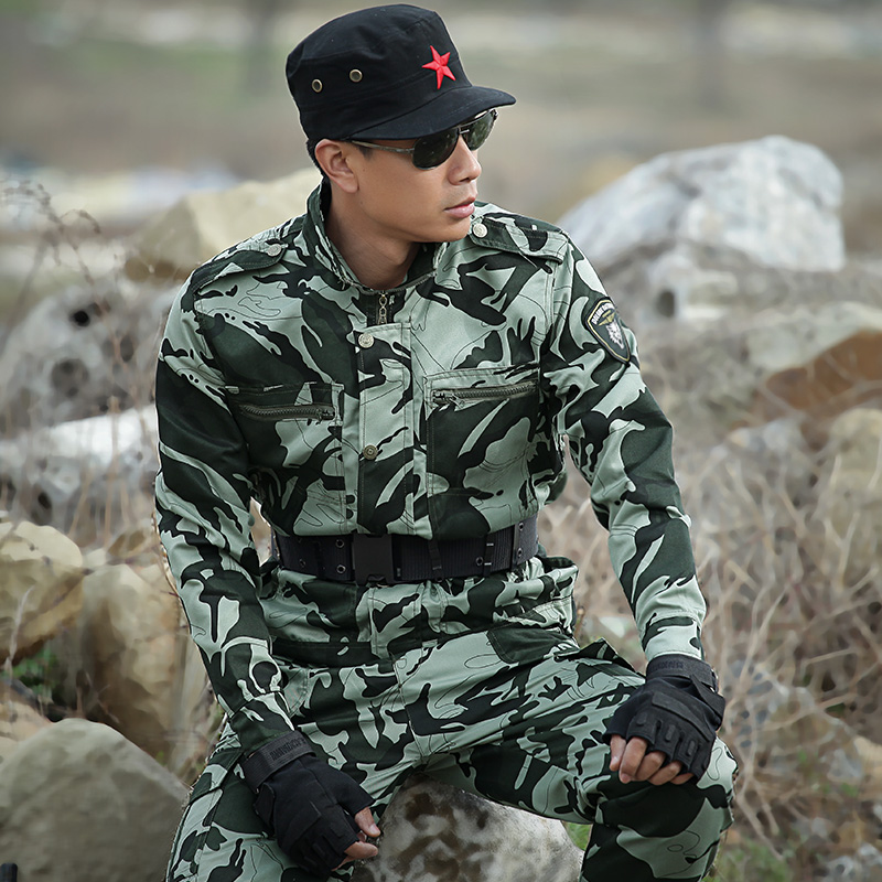 98a2d23e6ce Mens Hunting Clothes Tactical Camouflage Suit Jacket+pants Outdoor Army  Military Combat Sets Uniforms Outfit Suit CS Clothing