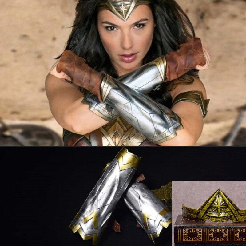 1 Movie Woman Arm Armors Headband Diana Prince