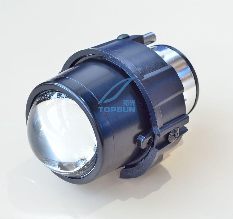 car bifocal fog lens, Front bumper lights bifocal lens assembly for NISSAN JUKE 10