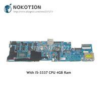 NOKOTION 11246 1 48.4RQ01.011 FRU 04X0848 For Lenovo Thinkpad Carbon X1 Laptop Motherboard I5 3337U CPU 4GB memory