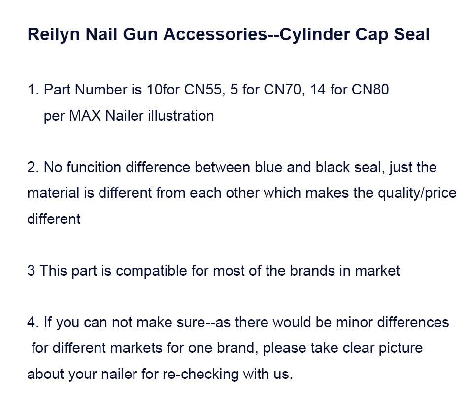 CN55 CN70 CN80 Planar Dichtung zylinder kappe dichtung Ersatzteile ...