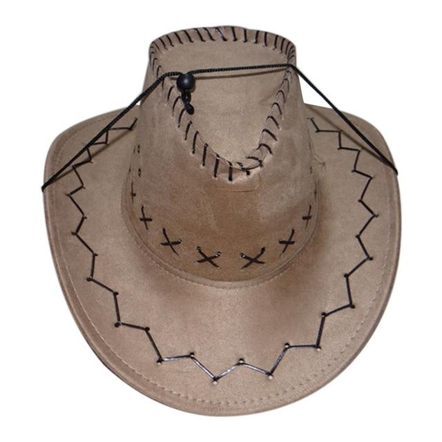Retro Unisex Denim Wild West Cowboy Cowgirl Rodeo Fancy Dress Accessory Hats 9f5bc2ef4e73