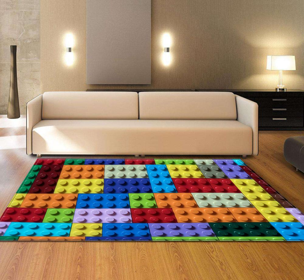 Nodic fleur motif 3D imprimer grand tapis rectangulaire lavable zone tapis couverture pour salon chambre cuisine maison Textile