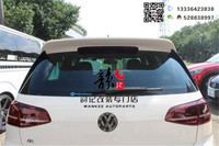 Fit For Volkswagen Golf 7 Golf7 GTI High Seven R Converted Reife Tail ABS Top Wing
