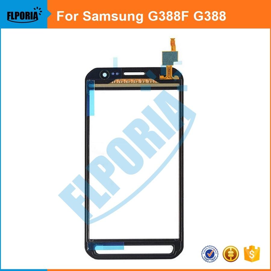 imágenes para 5 UNIDS Para Samsung Galaxy Xcover 3 G388F G388 Pantalla Táctil Digitalizador Lente Panel de piezas de Repuesto de calidad Superior