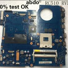 Para Samsung RC710 RC510 notebook PC placa base HM55 gt315m 1G ba92-07405a ba91-07405b 100 prueba OK