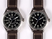 Японский автоматический mvt Flieger наручные часы для пилотов мужские с подогревом синий сапфир B-Uhr хронограф 300 M WR