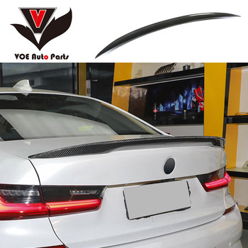 G20 Carbon Fiber Car-styling Rear Wing Lip Spoiler for BMW New 3 Series G20 2019 2020 image