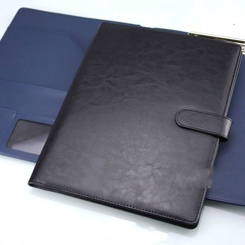 A4 Clipboard Folder Padfolio Folder For School Office Supplies Manager Clip Writing Pads Document Organizer Padfolio For Meeting