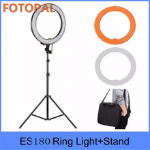 Fotopal Dimmable 5500K 32cm Phone Camera Photographie Studio Video Photo Ring Light Annular Lamp selfie ring light With Tripod