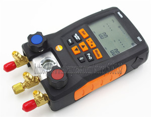Image 5 - With 4pcs Hoses Testo 550 Digital Manifold Gauge kit with Bluetooth / APP 0563 1550, 2PCS clamp probes,Suitcase