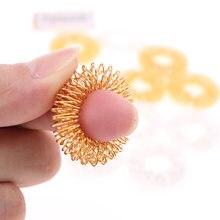 10 шт кольцо для снятия стресса с пальцев шиповидная сенсорная
