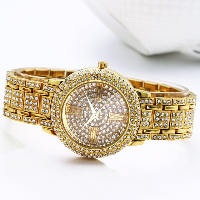 Full Crystals Watch for Women